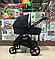 Детская коляска 2 в 1 Nano Baby Black, фото 4