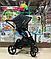 Детская коляска 2 в 1 Nano Baby Black, фото 6