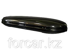 АВТОМОБИЛЬНЫЙ БОКС MAGNUM 450 (чёрный металлик) (2185х775х340) быстросъем