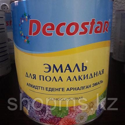 Эмаль для пола Decostar /желто-корич. 2,7 кг, фото 2