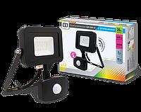 Прожектор светодиодный уличный LLT СДО-5ДВР-20 20ВТ 230В 6500К 1600ЛМ с датчиком движения IP44