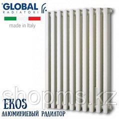 Радиатор алюминиевый GLOBAL EKOS 1400 (6 сек.) цена за сек.