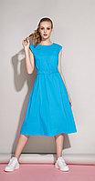 Платье Anna Majewska-1192G, бирюза, 46