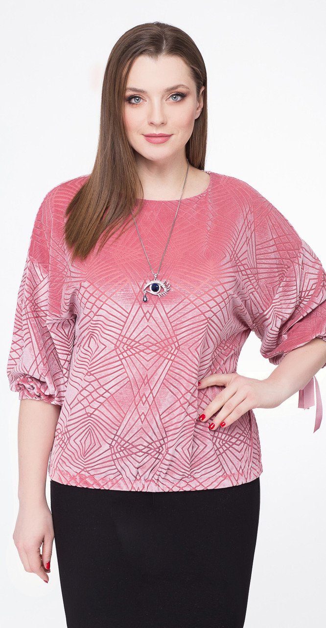 Блузка Дали-5301, розовый, 48