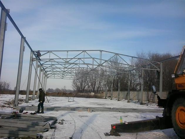 Строительство ангаров, производственных и промышленных зданий, фото 2