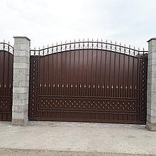 Откатные ворота Came