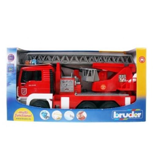 Пожарная машина MAN с лестницей с модулем  со световыми и звуковыми эффектами