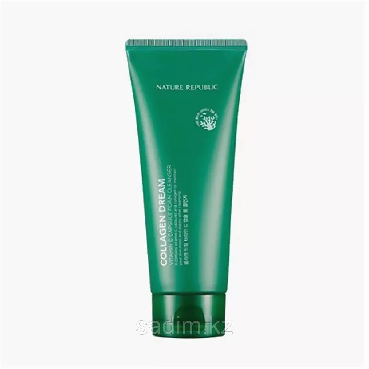 Nature Republic Collagen Dream Vitamin C Capsule Foam Cleanser -  Пенка для умывания