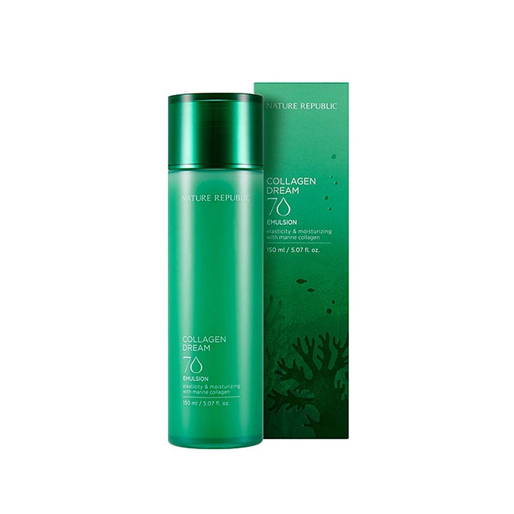 Nature Republic Collagen Dream 90 Skin Booster -     Тонер-Бустер с морским коллагеном и экстрактом ягоды асаи