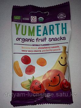Безглютеновый мармелад YamEarth с фруктовыми вкусами,50 грамм