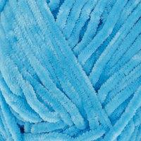 Пряжа 'Velour' 100 микрополиэстер 170м/100г (850 яр. голубой)