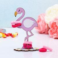 Органайзер для резинок и бижутерии 'Фламинго'