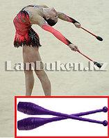 Булавы гимнастические фиолетовые (42х6 см) GF-00614