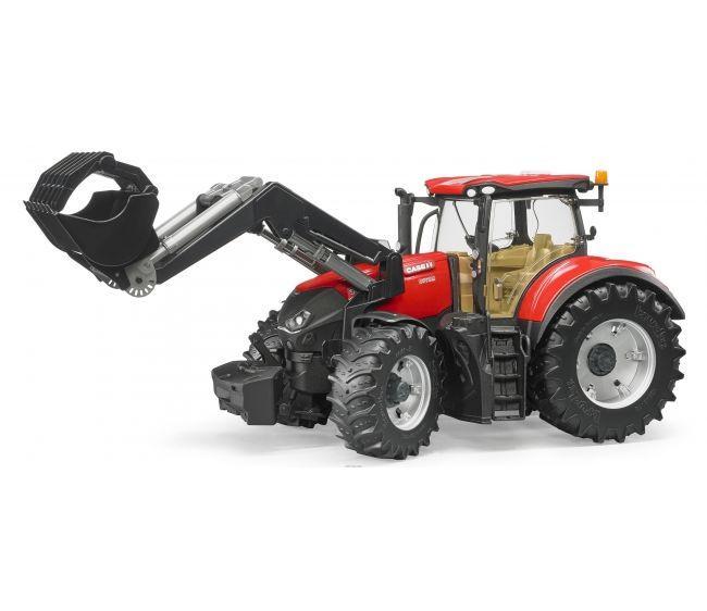 Bruder Игрушечный Трактор Case IH Optum 300 CVX с погрузчиком (Брудер)