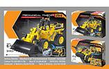 Конструктор QiHui Technics 6803 2в1 Mechanical Master бульдозер и танк аналог Лего Lego Technic, фото 2