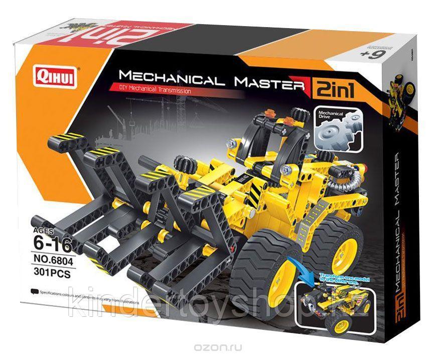 Конструктор QiHui Mechanical Master 6804 Трактор и багги Лего Lego Technic 301 дет