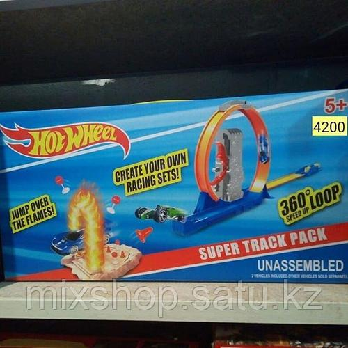 Игровой набор АВТО ТРЕК SUPER TRACK PACK Hot WHEEL 360°