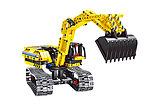 Конструктор QiHui Technics 6801 2в1 Mechanical Master экскаватор и робот аналог Лего Lego Technic, фото 3