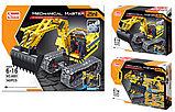 Конструктор QiHui Technics 6801 2в1 Mechanical Master экскаватор и робот аналог Лего Lego Technic, фото 2
