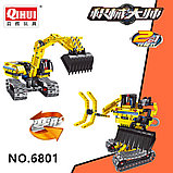 Конструктор QiHui Technics 6801 2в1 Mechanical Master экскаватор и робот аналог Лего Lego Technic, фото 4