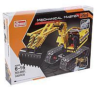 Конструктор QiHui Technics 6801 2в1 Mechanical Master экскаватор и робот аналог Лего Lego Technic
