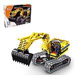 Конструктор QiHui Technics 6801 2в1 Mechanical Master экскаватор и робот аналог Лего Lego Technic, фото 5