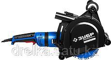 Штроборез (бороздодел), ЗУБР ЗШ-П45-2100 ПВТК, макс. глуб. 45 мм, 180 мм, подключ. пылесоса, 2100 Вт, фото 3