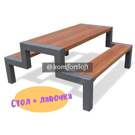 Стол + лавочка, фото 2