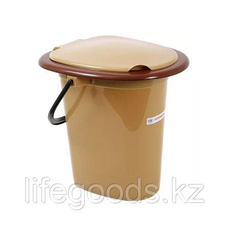 Ведро-туалет (биотуалет) 16л пластиковый, фото 2