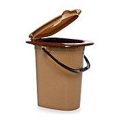 Ведро-туалет (биотуалет) 16л пластиковый арт. С205 / 205