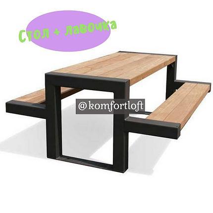 Стол + лавка, фото 2