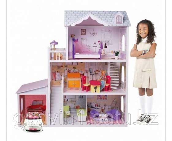 Кукольный дом Edufun с мебелью 123 см EF4108 00-66745