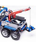 "Конструктор Аналог Lego Technik 8273-2  Decool 3332 ""Тягач - вездеход""  678 деталей, фото 3"