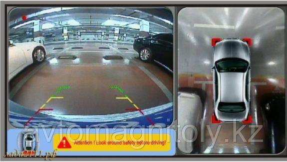 Система кругового обзора 3D BIRDVIEW 360° Toyota Land Cruiser Prado 150