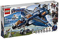 76126 Lego Super Heroes Модернизированный квинджет Мстителей, Лего Супергерои Marvel