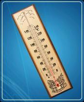 Термометр для сауны бытовой ТС №1 (0...+150) ц.д.2, основание-дерево 80х300мм