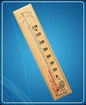 Термометр для сауны бытовой ТС №2 (0...+150) ц.д.2, основание-дерево 60х300мм