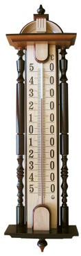 """Термометр сувенирный """"Усадьба"""" ТФ-2 (-50...+50) цена деления 1, основание-дерево 820х200мм"""