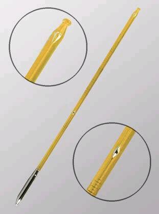 Термометр для нефтепродуктов ТИН-10№10 (-19,2-15,4*С) ц.д.0,05