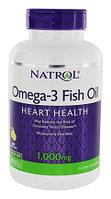 Омега 3 ( Omega) 1000 мг.в 1 капсуле. 180 мг. EPA/120 мг.DHA. 150 капсул. Для взрослых и детей.Natrol