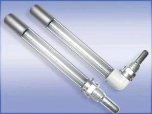 Оправа защитная ОТУ металлическая угловая для технич.термометров, верх.часть 265мм, нижняя 100 мм