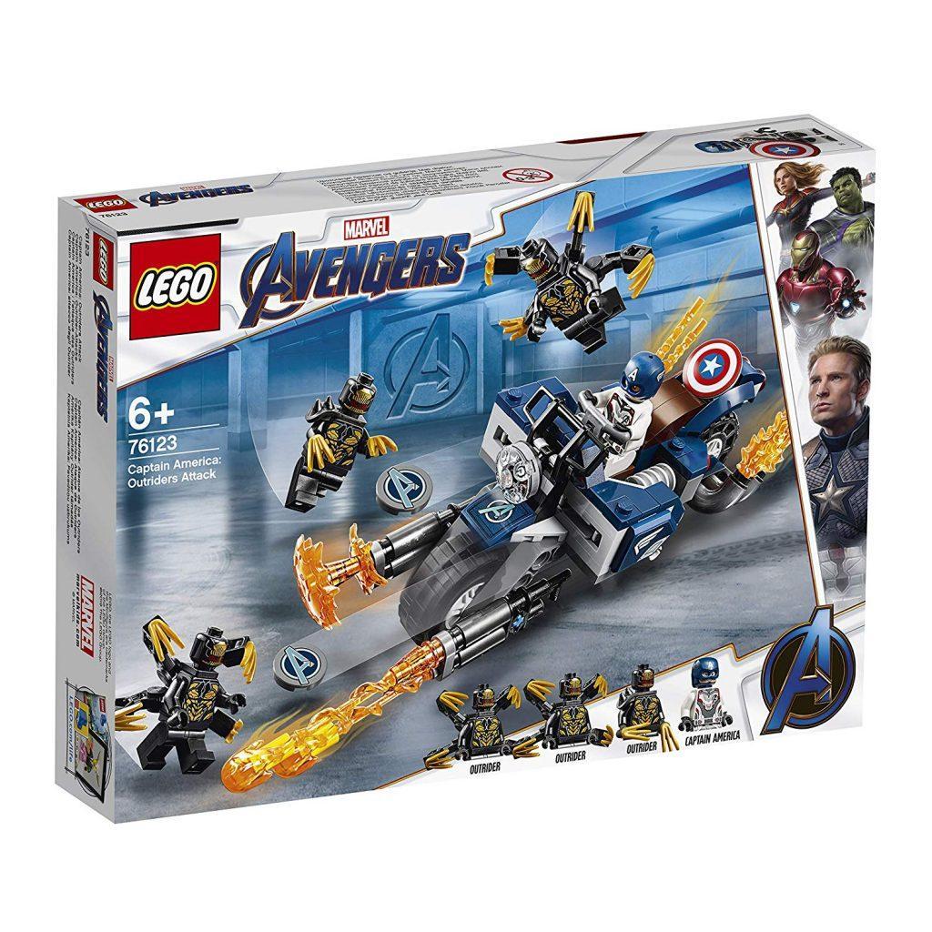 76123 Lego Super Heroes Капитан Америка: Атака Аутрайдеров, Лего Супергерои Marvel