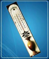 """Термометр бытовой сувенирный  Д-11 """"Кувшинчик"""" (0...+50)  ц.д.1, основание-дерево"""