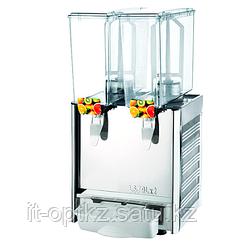 Сокоохладитель LSJ9X2 (330х440х670мм, 2х9л, +7...+12°С, 0,28 кВт, 220В)