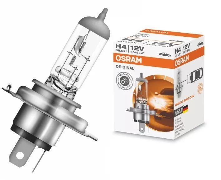 Лампа галогенная H4 60/55W 12V P43t OSRAM ORIGINAL LINE