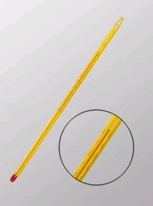 Термометр для нефтепродуктов ТИН-8 (-80+20*С), ц.д.0,5