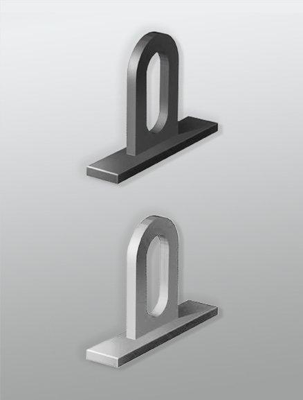 Петля для плакатного профиля LNT