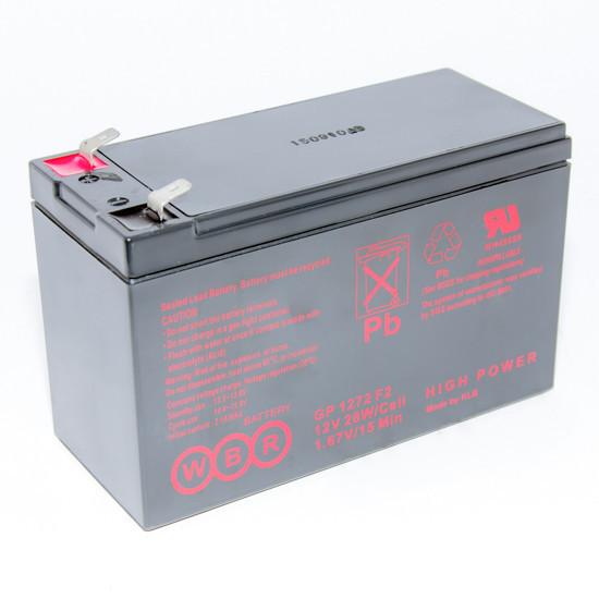 WBR GP1272 F2  Аккумулятор (12V 7.2Ah)