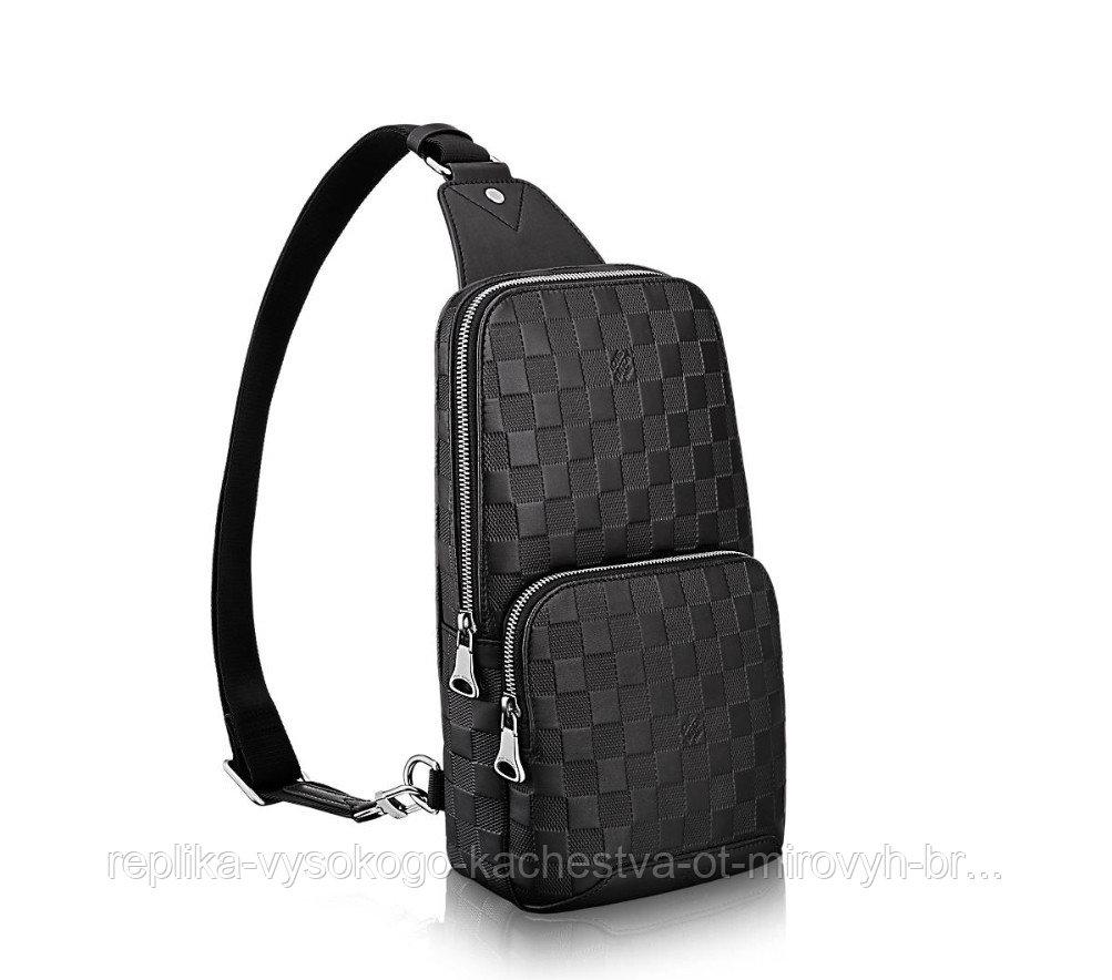 Сумка-мессенджер Avenue Slim Bag кожа
