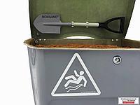 Ящик для песка BOXSAND 0,25 м3. Цвет - комбинированный.